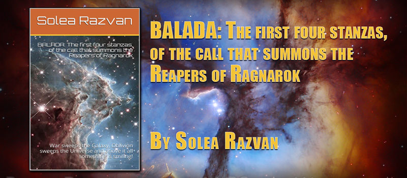 Balada: The first four stanzas, of the call that summons the Reapers of Ragnarok