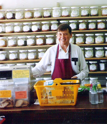 Roger Margason at North Winds Natural Foods