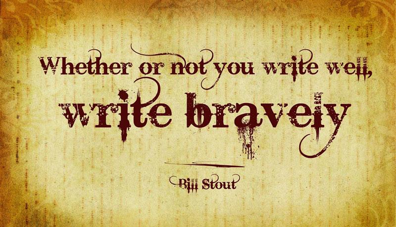 Write Bravely