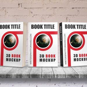 3D Book Mockup Paperback 6x9 Series