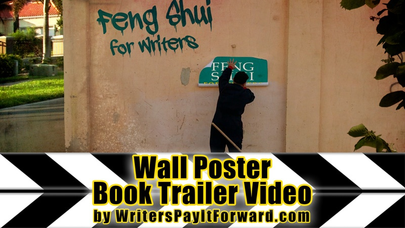 wall poster book trailer video