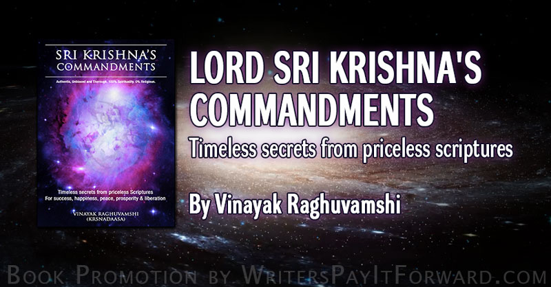 Lord Sri Krishna's Commandments banner