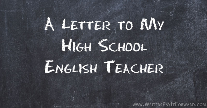 letter to my english teacher