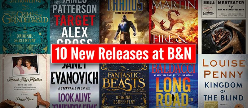 10 New Releases at B&N