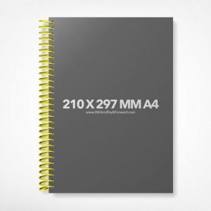 Book Mockup -Notebook 210x297-A4-NBW1-16