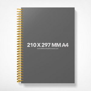 Book Mockup -Notebook 210x297-A4-NBW1-17