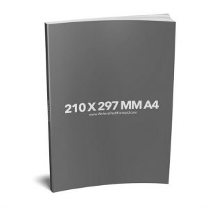 Book Mockup - Paperback 210x297x13-PBNR1-20