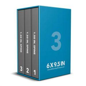 Book Mockup - Boxset 6x9.5x1.5-BSKN1-3