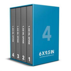 Book Mockup - Boxset 6x9.5x1.5-BSKN1-4