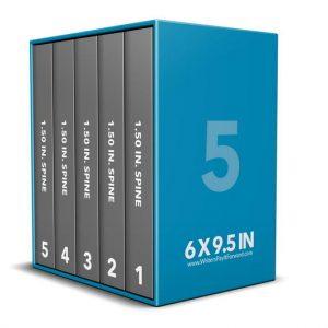 Book Mockup - Boxset 6x9.5x1.5-BSKN1-5