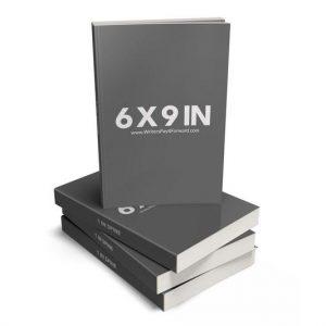 Book Mockup - Paperback 6x9x1-PBL1-3