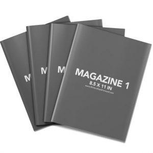 Book Mockup - Magazine 8.5x11-MAG01
