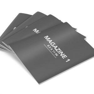 Book Mockup - Magazine 8.5x11-MAG02