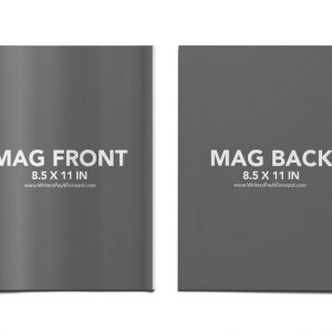 Book Mockup - Magazine 8.5x11-MAG07
