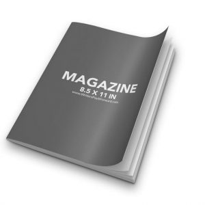 Book Mockup - Magazine 8.5x11-MAG09