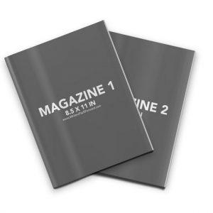 Book Mockup - Magazine 8.5x11-MAG10