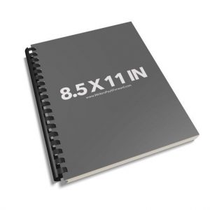Book Mockup -Notebook 8.5x11-NBAP2