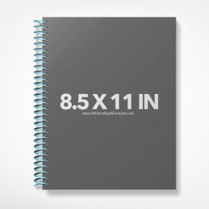 Book Mockup -Notebook 8.5x11-NBW1-10