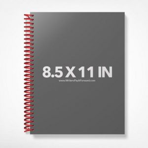 Book Mockup -Notebook 8.5x11-NBW1-4