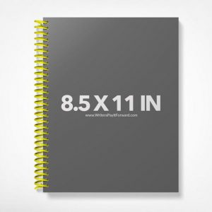 Book Mockup -Notebook 8.5x11-NBW1-6