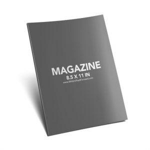 Book Mockup - Magazine 8.5x11x0.25-MAG03