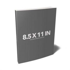 Book Mockup - Paperback 8.5x11x1-PBCH1-20