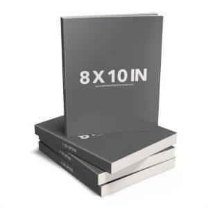 Book Mockup - Paperback 8x10x1-PBL1-4