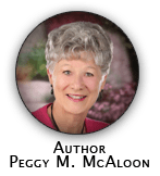 Author Peggy M. McAloon