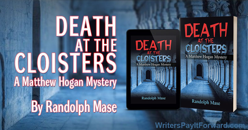 Death at the Cloisters: A Matthew Hogan Mystery banner