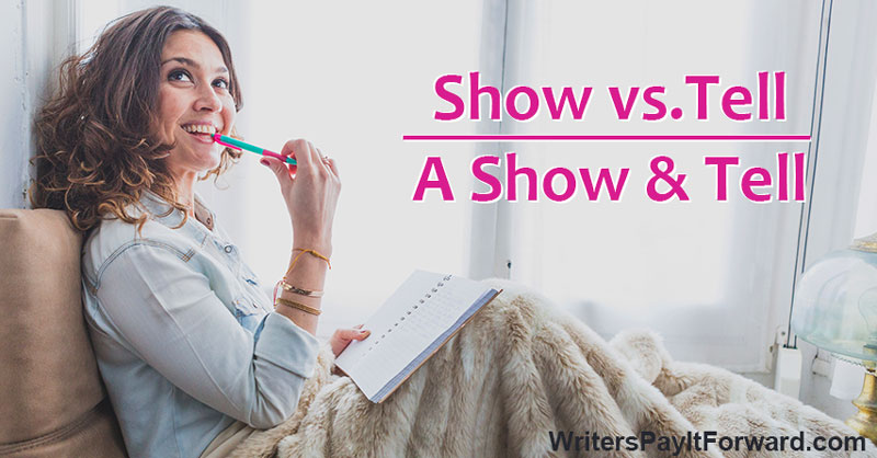 Veteran Writers Show Vs Tell Examples