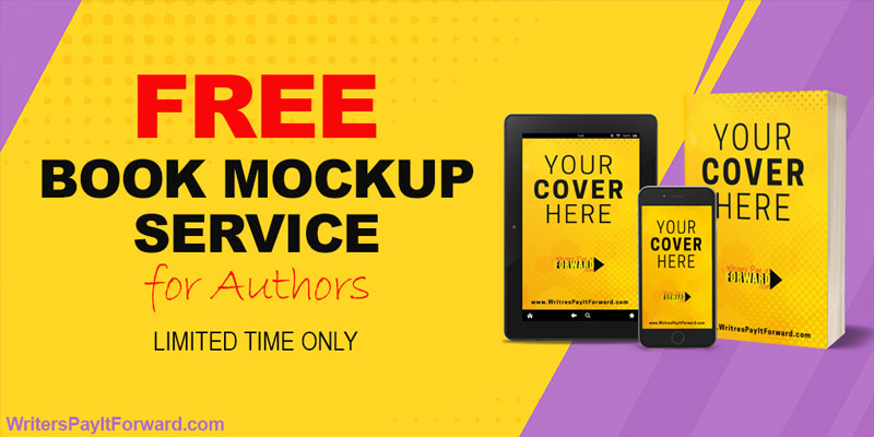 Free Book Mockup Service for Authors